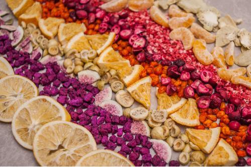 LIOFILIZOWANE owoce, warzyw, zioła, przyprawy