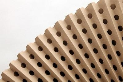 Pleated paper concertina filter