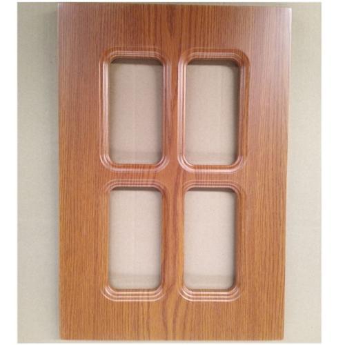 PVC Membrane MDF kitchen cabinet Door
