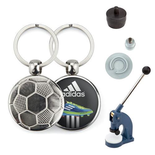 Starter Kit de Porte-clés métalliques de FOOTBALL