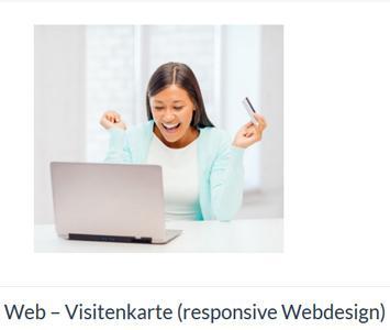 Web - Visitenkarte