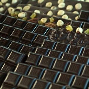 chocolat artisanal aux fruits secs