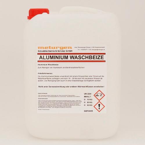 Aluminium Waschbeize