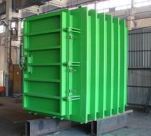 Förtillverkade stålkonstruktioner för fartyg