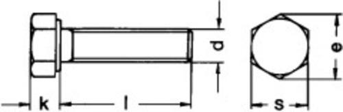 Sechskantschrauben mit Gewinde bis Kopf (TÜV-zugelassen