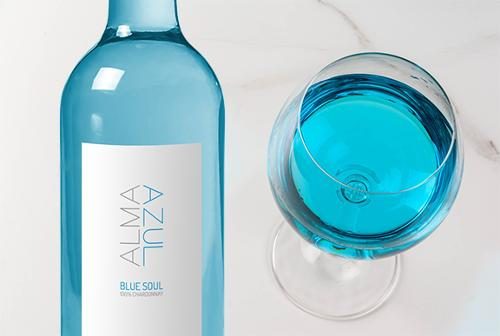ALMA AZUL - blue wines