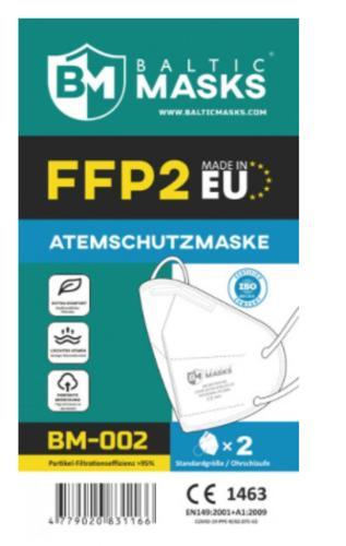 Atemschutzmaske Ffp2, Ce Zertifiziert Mit Nasenbügel