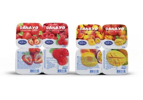 DANAYO Joghurt-Fruchtmischung mit langer Haltbarkeit