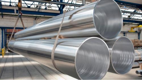 Tubi in alluminio estruso a ponte