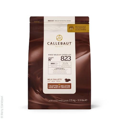 Cioccolato al Latte di Copertura Pastiglie 34-36 M.G 2,5kg