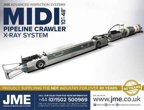 JME Pipeline Crawler Inspection Systems