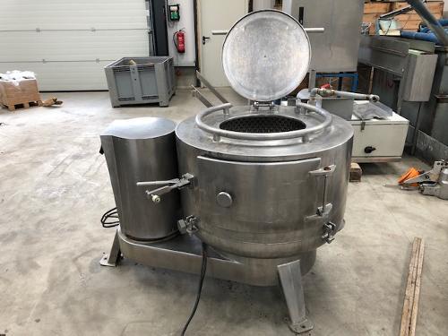 La Parmentiere 650P Feet dehairing