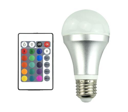 IR Fernbedienung LED Farbwechsel-Glühbirne - A60, 4W, 65lm