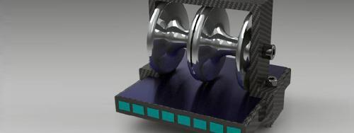 Composite Flyer Bows: Large Carbon bracket cross-sections