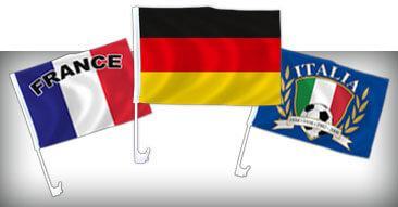 WM & EM Auto Flaggen