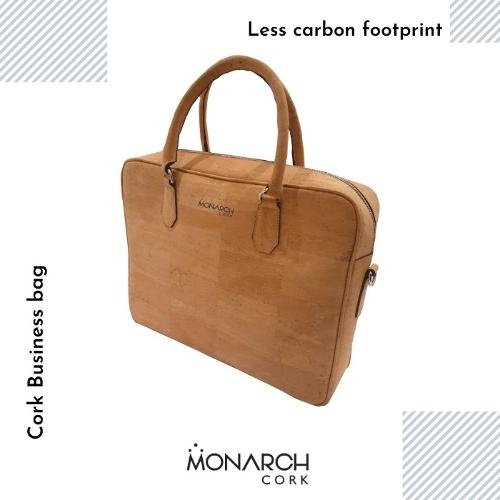 Business cork hand Bag with Laptop Packet for travelers