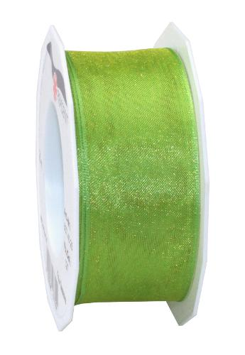 Four Seasons - Organza ribbon with wired edges