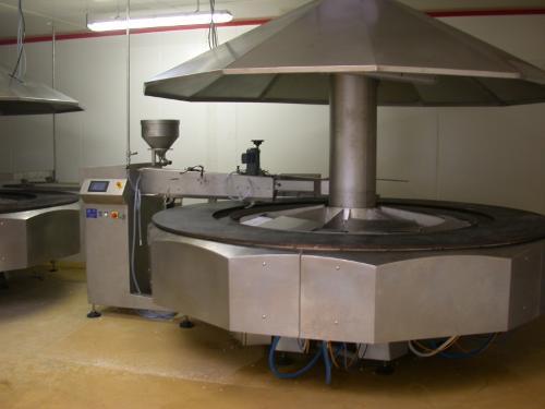 Machine Automatique cuisson 1 face sur plaque