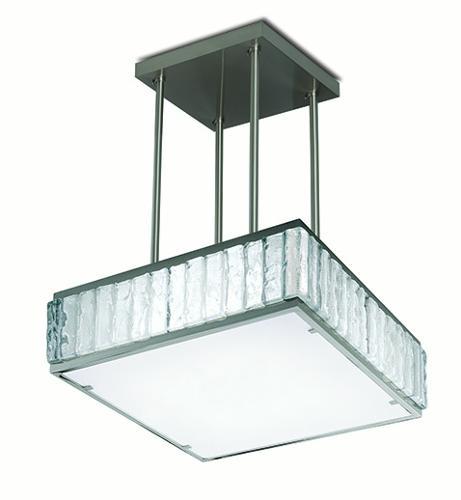 Square pendant light