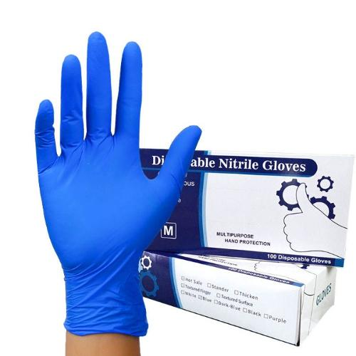 Lékařské chirurgické nitrilové rukavice Nitrilové rukavice