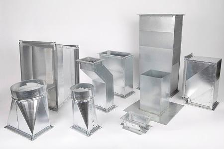 Gaines rectangulaires de ventilation