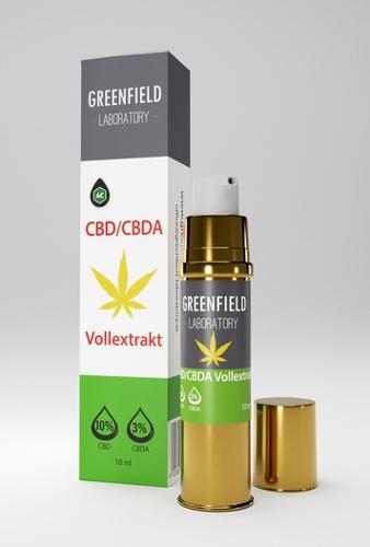 Premium Vollspektrum CBD Öl (10% CBD + 3% CBDa)