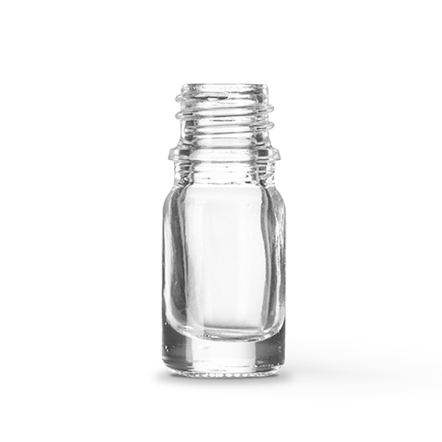 5ml Clear Glass Bottle (10 Pieces)