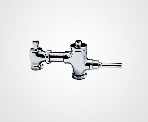 Lever action flush valve