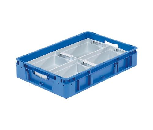 silverline insert trays 280 x 178 x 80 mm - 1/4 partition