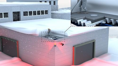 Schnee- und Stauwasser-Alarmsystem SAS-307