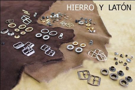 ADORNOS HIERRO Y LATON