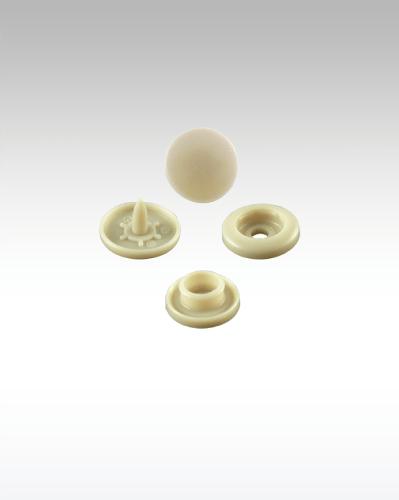 Golden Brown Plastic Snaps (12,50mm) Cap