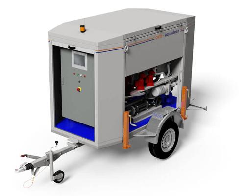 Mobile Oil-Water Separators