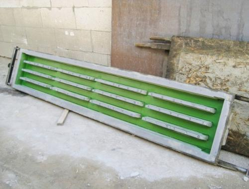 Форма для решеток бетонных