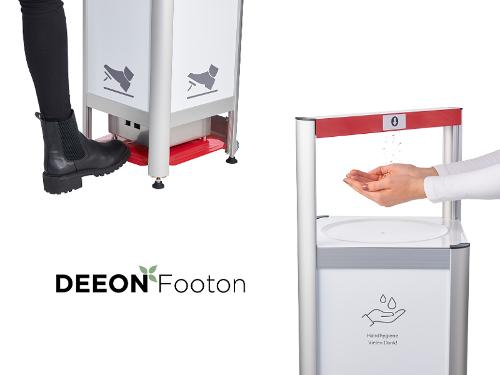 Hand Disinfection Dispenser - Deeon Footon