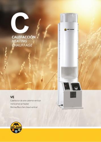 Calefacción de talleres de automoción con gasóleo - VE