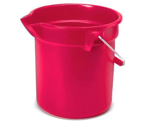 10L/14L plastic measuring scale/marks water bucket