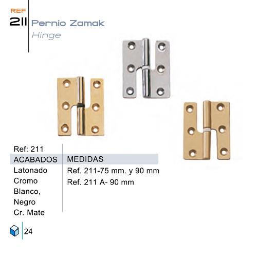 Pernio Zamak - 211