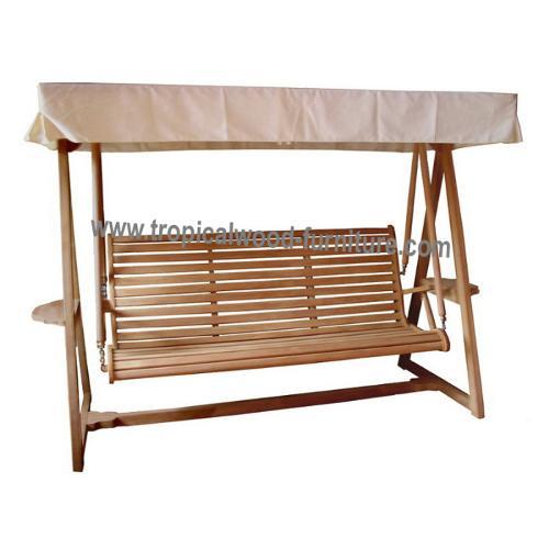 Palma Teak Garden Swing Bench 180 cm