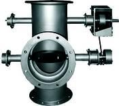 Turning valves for process gas