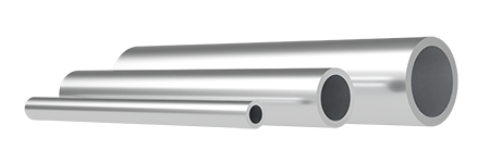 Aluminium round tubes for general technical application
