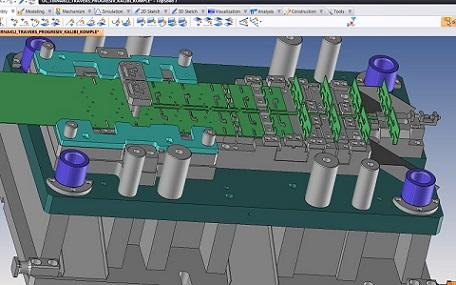 Injection Mould Design Drawing