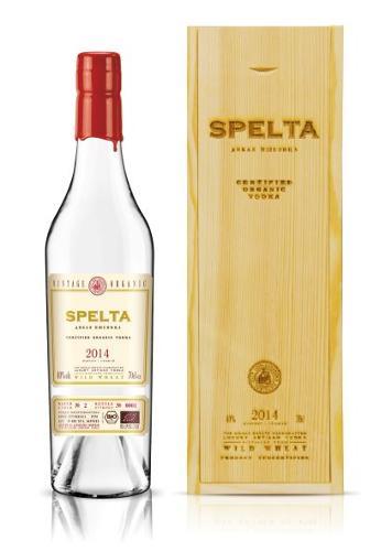 Organic vodka Spelta