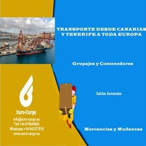 Transporte marítimo desde Islas Canarias