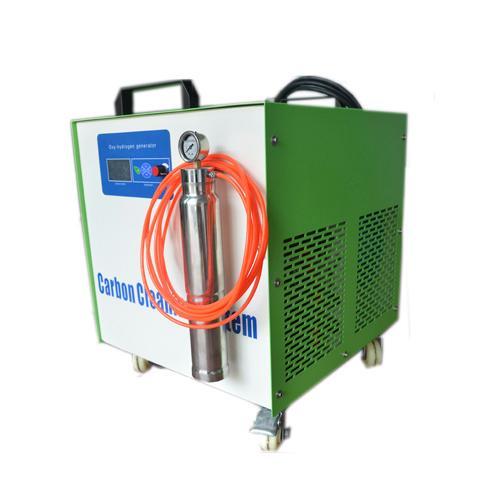 Sistema de limpieza de carbón del motor hho