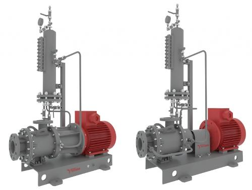 Horizontal Canned Pumps With Welded Bodies