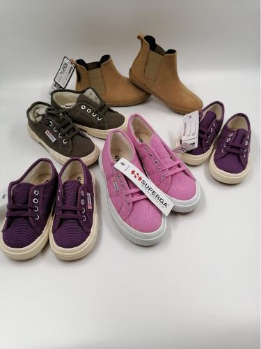 Детская брендовая обувь микс оптом Superga