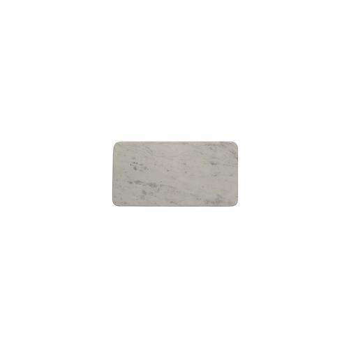 Plateau Rectangulaire Marbre Blanc