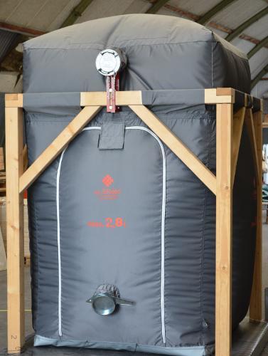 Wood Pellet storage (HPL)