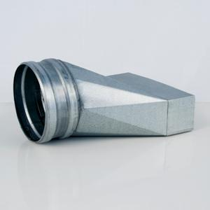 Flat ventilation ducts